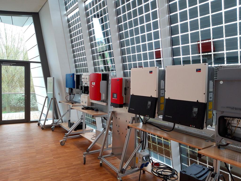Reparatur von Photovoltaik-Wechselrichtern